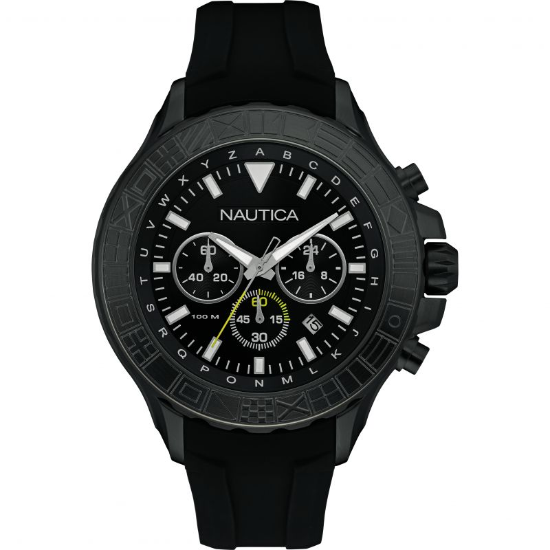 Mens Nautica NST1000 Chronograph Watch