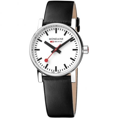 Ladies Mondaine Swiss Railways Evo2 30 Watch MSE30110LB