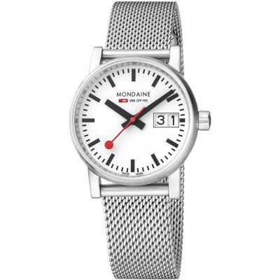 Ladies Mondaine Swiss Railways Evo2 30 Watch MSE30210SM