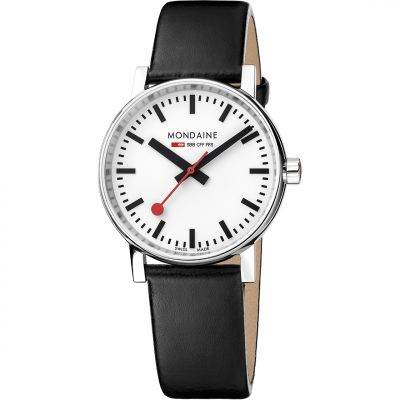 Unisex Mondaine Swiss Railways Evo2 35 Watch MSE35110LB