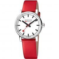 Unisex Mondaine Swiss Railways Evo2 35 Watch MSE35110LC