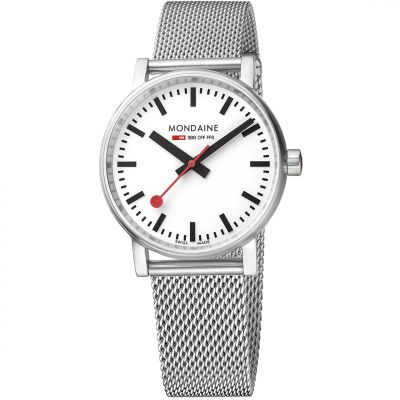 Unisex Mondaine Swiss Railways Evo2 35 Watch MSE35110SM