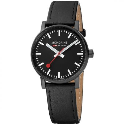Unisex Mondaine Swiss Railways Evo2 35 Watch MSE35121LB
