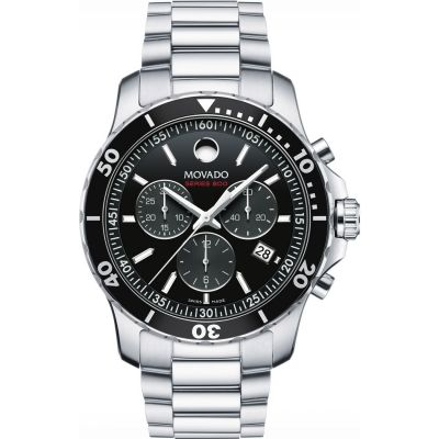 Mens Movado Series 800 Chronograph Watch 2600142