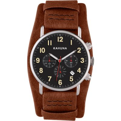 Mens Kahuna Chronograph Cuff Watch AKUC-0060G