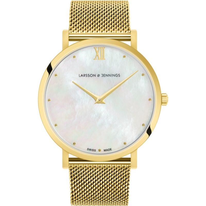 Ladies Larsson & Jennings Logano Bernadotte 40mm Watch