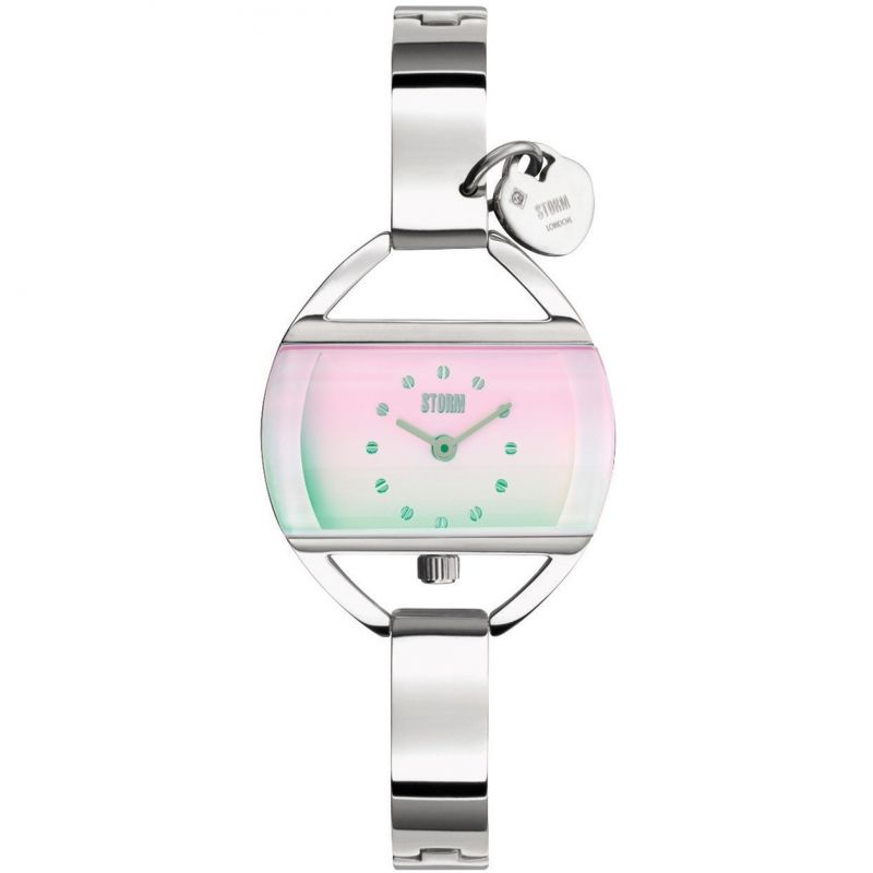 Storm Temptress Charm Lazer Pink Watch
