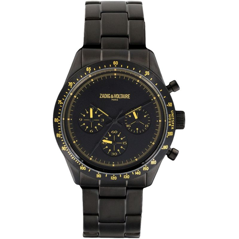 Mens Zadig & Voltaire Master Chronograph Watch