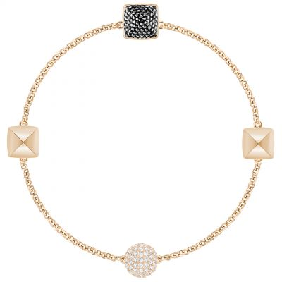 Ladies Swarovski Rose Gold Plated Remix Spike Bracelet 5365753