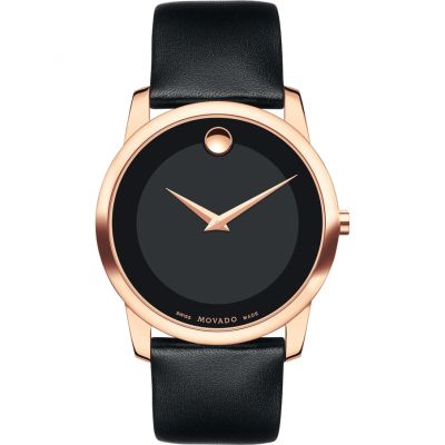 Mens Movado Museum Classic Watch 0607078