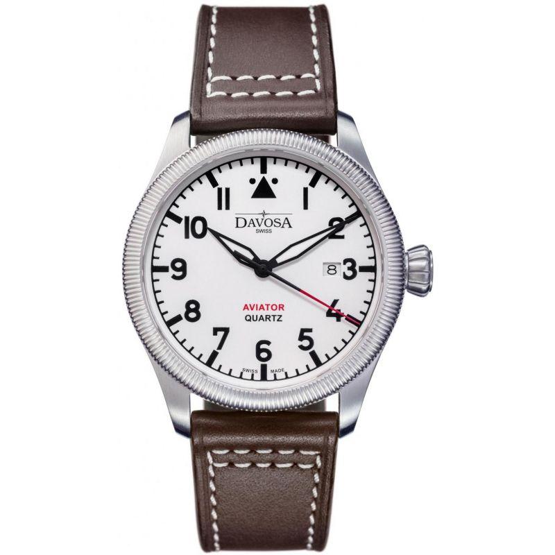 Mens Davosa Aviator Watch
