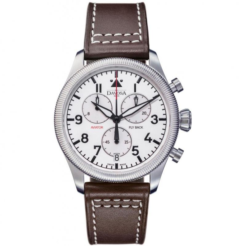 Mens Davosa Aviator Chronograph Watch