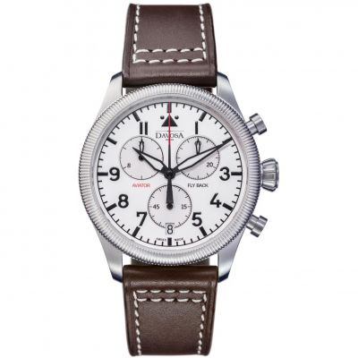 Mens Davosa Aviator Chronograph Watch 16249915