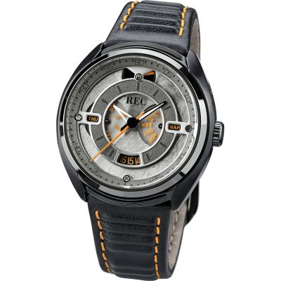 REC The 901 Herenhorloge Zwart 901-03