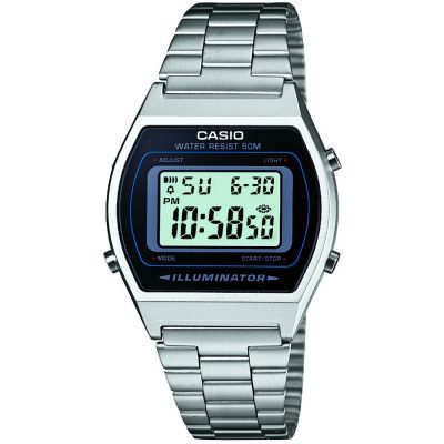 Casio Classic Unisexchronograph in Silber B640WD-1AVEF