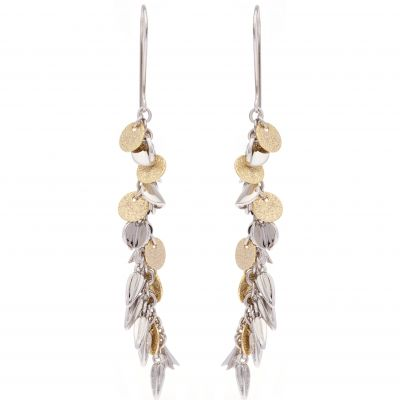 Karen Millen Dames Sunset Charm Earrings Tweetonig/ verguld goud KMJ1177-23-03