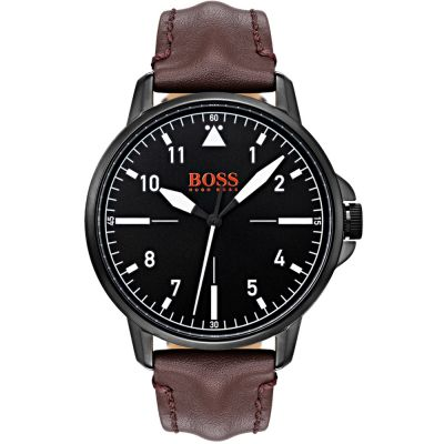 Hugo Boss Orange Chicago Chicago Herrenuhr in Braun 1550062