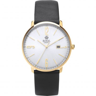 Royal London Classic Slim Herenhorloge Zwart 41342-04