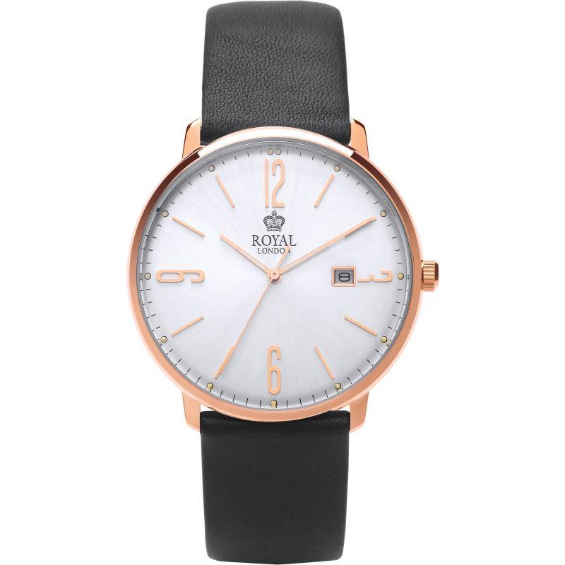 Mens Royal London Classic Silm Watch