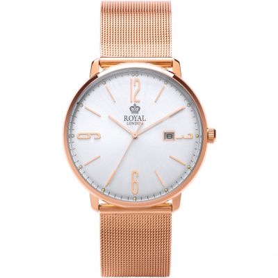 Royal London Classic Slim Herenhorloge Rose 41342-14
