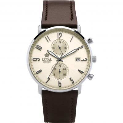 Zegarek męski Royal London Slim Multi-function 41352-04