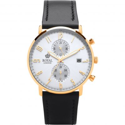 Mens Royal London Slim Multi-function Watch 41352-05