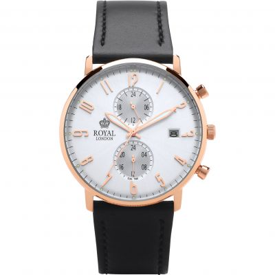 Mens Royal London Slim Multi-function Watch 41352-06