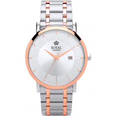Royal London Classic Herenhorloge Tweetonig 41367-05