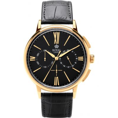 Mens Royal London Chronograph Watch 41370-06