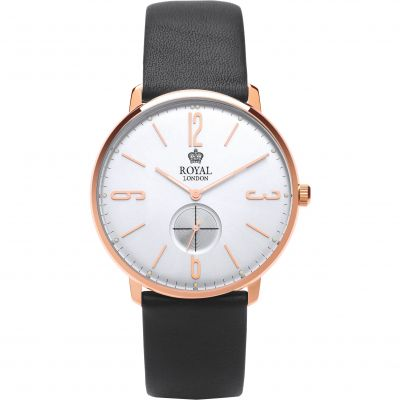 Royal London Classic Slim Herenhorloge Zwart 41343-06