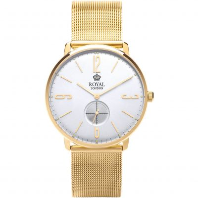 Royal London Classic Slim Herenhorloge Goud 41343-12