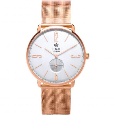 Royal London Classic Slim Herenhorloge Rose 41343-13