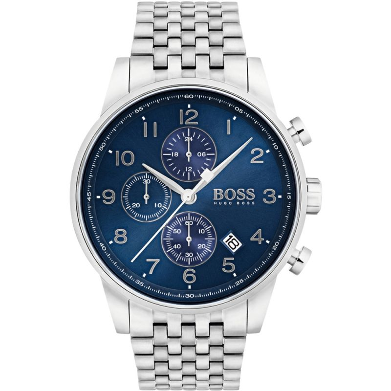 Mens Hugo Boss Navigator Chronograph Watch
