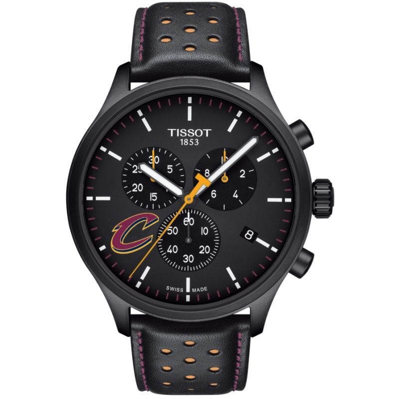 Mens Tissot Chrono XL NBA Cleveland Cavaliers Chronograph Watch