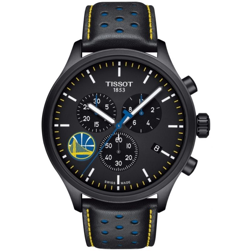 Mens Tissot Chrono XL NBA Golden State Warriors Chronograph Watch