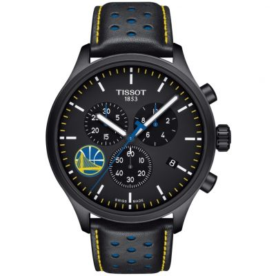 Tissot Chrono XL NBA Golden State Warriors Herrenchronograph in Schwarz T1166173605102