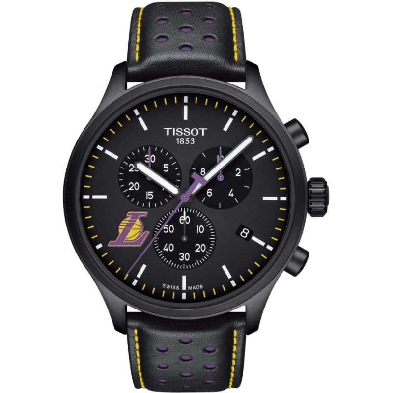 Mens Tissot Chrono XL NBA Los Angeles Lakers Chronograph Watch