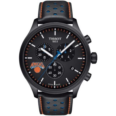 Tissot Chrono XL NBA New York Knicks Herrenchronograph in Schwarz T1166173605105