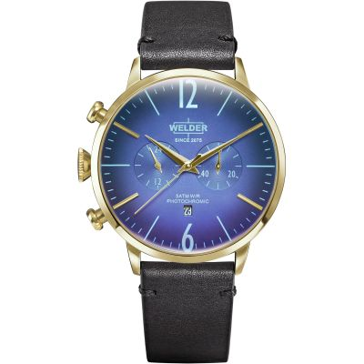 Welder The Moody 45mm Unisexchronograaf Zwart K55/WRC301