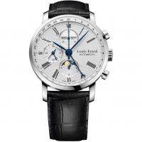 Mens Louis Erard Excellence Moonphase Automatic Chronograph Watch