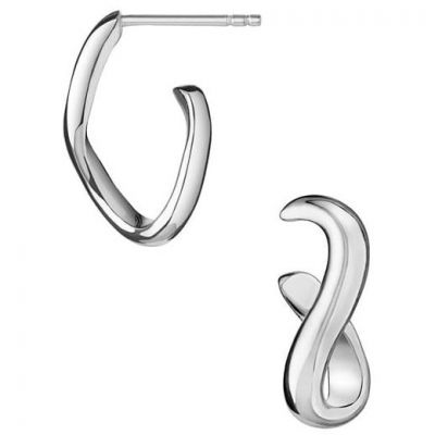 Ladies Links Of London Sterling Silver Infinite Earrings 5040.1989