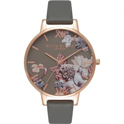 Marble Florals London Grey & Rose Gold Watch