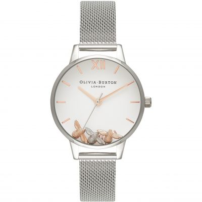Busy Bees Silver Mesh Watch Watch