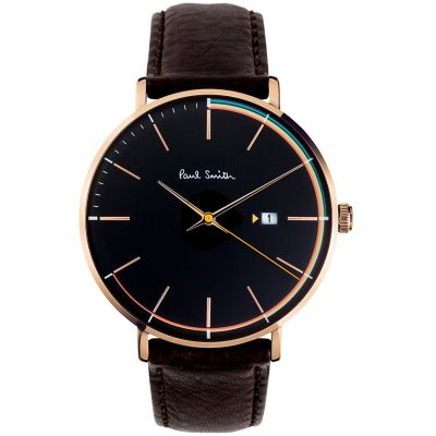 Paul Smith Track Herrenuhr in Schwarz PS0070008