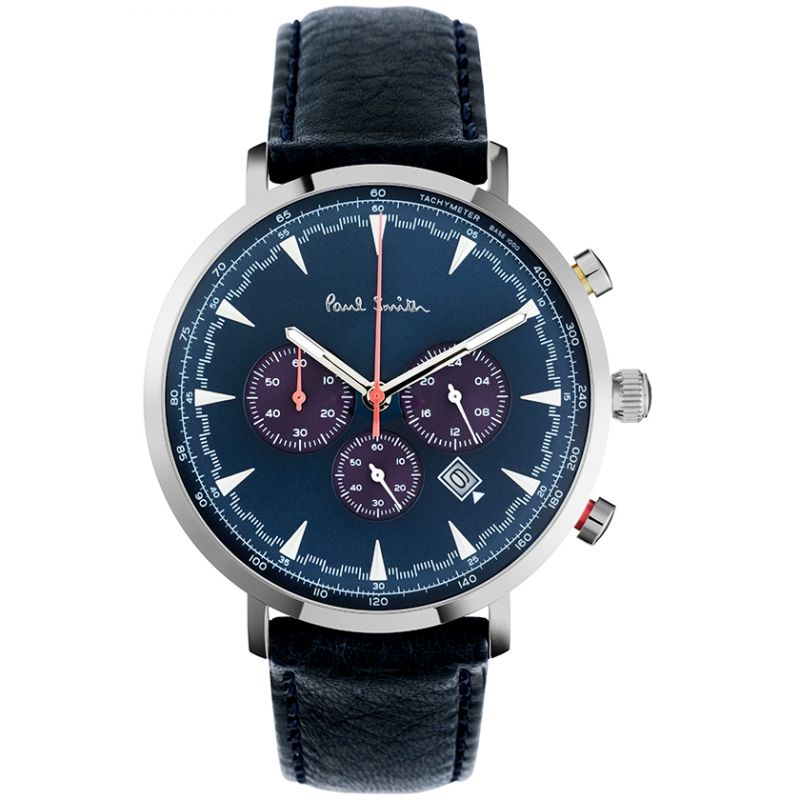 Mens Paul Smith Track Chronograph Watch PS0070010