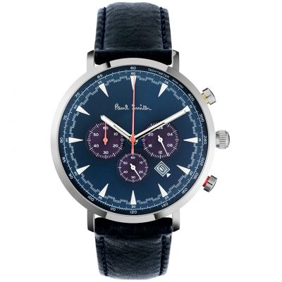 Paul Smith Track Herenhorloge Blauw PS0070010