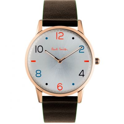Paul Smith Slim Herenhorloge Bruin PS0100005