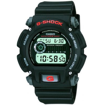 Casio G-Shock Herrenchronograph in Schwarz DW-9052-1VER