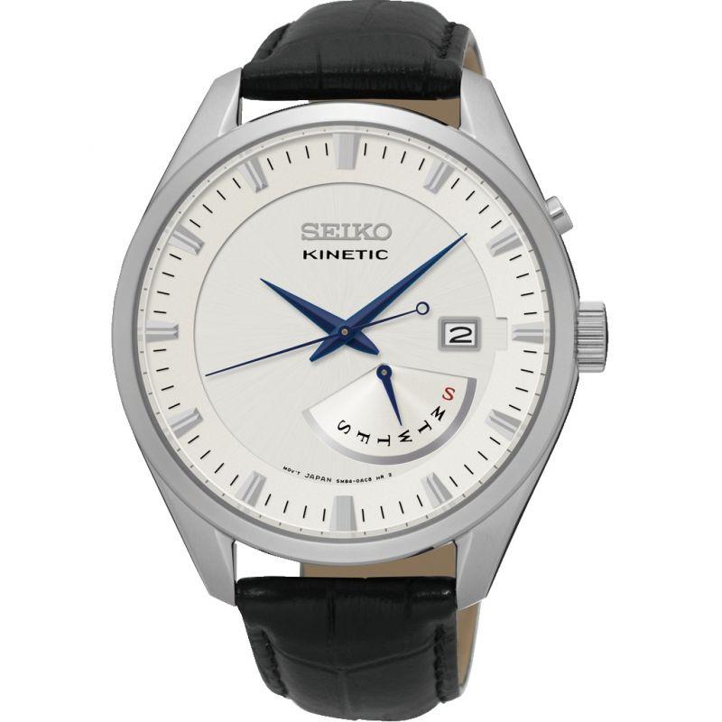 Mens Seiko Kinetic Retrograde Kinetic Watch