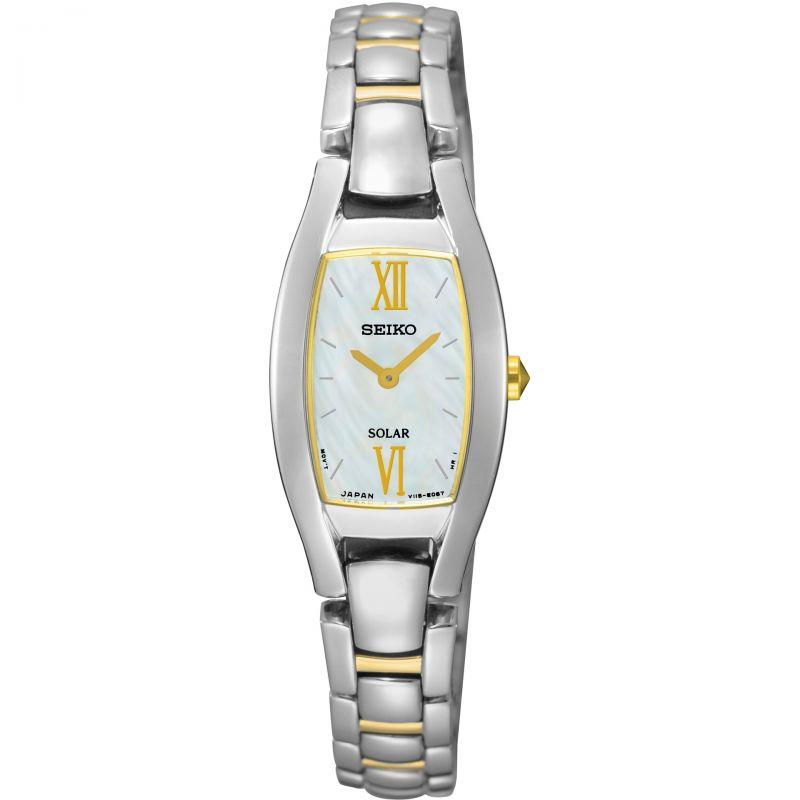 Ladies Seiko Dress Solar Solar Powered Watch